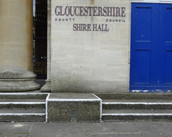 Shire Hall steps