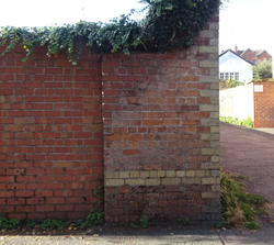 wall in Swilgate.